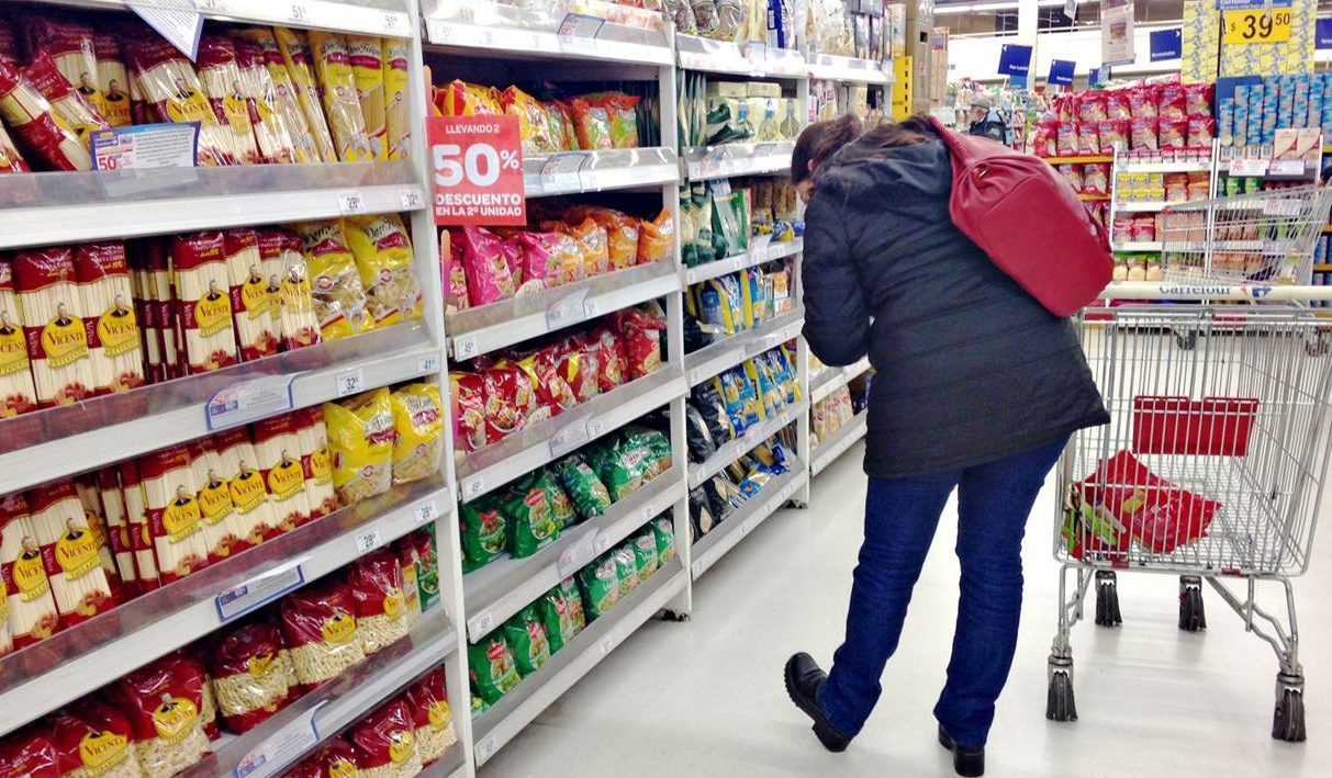 Ley de góndolas? El 74% de la facturación de los productos de la góndola  corresponde a 20 grandes empresas